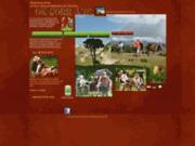 screenshot http://www.rando-ane-a-ok-corr-ane.com OK CORR ÂNE la randonnée avec des ânes dans le Vercors