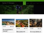screenshot http://rando-vtt-bretagne.fr/ Le calendrier des randos VTT en Bretagne