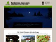 screenshot http://www.randonnee-alsace.com randonnées vtt : guidées ou libertés