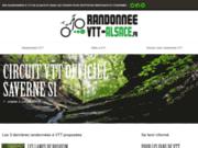 screenshot https://randonnee-vtt-alsace.fr/ randonnée VTT Alsace