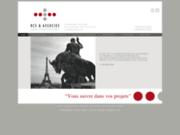screenshot http://www.rcs-associes.com/ droit commercial paris, avocat recouvrement des créances, litige contrat, concurrence