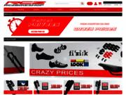 screenshot http://www.rczbikeshop.fr webshop de pièces détachées VTT