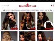 screenshot http://www.real-russian-hair.com L'extension de Cheveux Russes pas chère