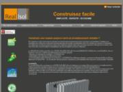 screenshot http://realisol.com Construire facilement votre maison passive ou BBC