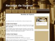 screenshot http://www.recette-liqueur.fr recettes de liqueurs