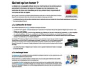 screenshot http://www.recharge-laser.fr cydatic - spécialiste de la recharge toner