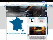 screenshot http://www.recherche-fuite-eau.com/ Recherche de fuites d'eau en France