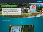 screenshot http://www.recrealle.be centre récréatif et descentes en kayak