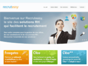 screenshot http://recruteasy.fr gestion des candidatures