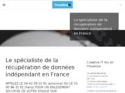 screenshot http://www.recup-donnees.com Récupération de données de disque dur
