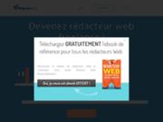 screenshot http://redacteurweb.fr/ Rédacteurs web