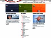 screenshot http://redjuice.fr creation site internet, hébergement, référencement