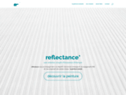 screenshot http://reflectance.fr/ peinture isolante