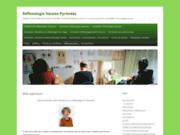screenshot http://www.reflexologue-hautespyrenees.com réflexologie hautes pyrénées