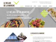 screenshot https://www.relaisdelamarche36.com/ hôtel bar restaurant à Aigurande 36140