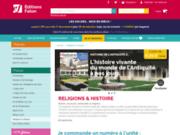 screenshot http://www.religions-histoire.com/ histoire des religions