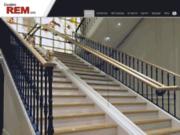 screenshot http://www.rem-sa.fr rem escaliers helicoidaux