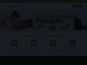 screenshot https://www.remisesetprivileges.fr portail de shopping avec remboursement cash back