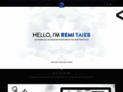 screenshot http://www.remitaieb.fr portfolio rémi taieb - développeur web