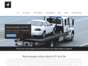 screenshot https://www.remorquagedepannage.fr Remorquage voiture