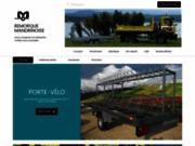 screenshot http://www.remorque-mandrinoise.com remorque sur mesure