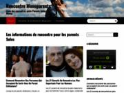 Rencontre monoparents, un site de rencontrer sérieux pour les parents solos