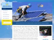 screenshot http://www.renouvel-energie-nord.com renouvel'energie : solutions photovoltaïques