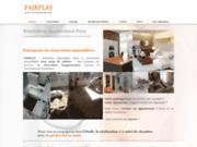 screenshot http://www.renovation-fairplay.com Fairplay est une entreprise de rénovation tous corps d'état