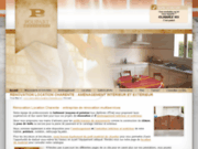 screenshot http://www.renovation-location-charente.com/ aménagement extérieur proche angoulême, charente