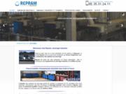 screenshot http://www.repram.fr ramoneur industriel à seine maritime - 76160