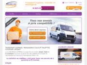 screenshot http://www.reseau-express.com transport express  couriser