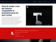 screenshot https://reservationautoecole.com/fr/ ReservationAutoEcole