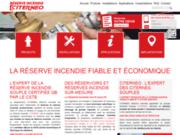 screenshot http://www.reserve-incendie.fr Réserve incendie en citerne souple