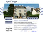 screenshot http://www.residence-jocelyne.com location de meublé