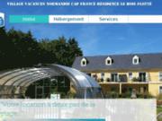 screenshot http://www.residence-leboisflotte.com Résidence le Bois Flotté