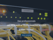 screenshot https://resintel.fr Réseaux Ingénierie Télécommunications