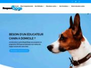 screenshot https://www.respectdogs.fr éducateurs canins