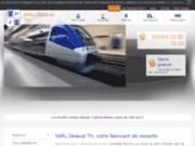screenshot http://www.ressorts-delaval.com/ ressorts roubaix 59