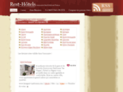 screenshot http://www.rest-hotels.com rest'hôtels