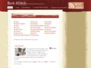 screenshot http://www.rest-hotels.com rest'hôtels