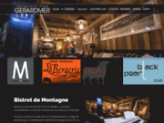 screenshot http://www.restaurant-club-gerardmer.fr/ Restaurants, Clubs