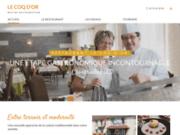 screenshot http://www.restaurant-coqdor-23.com restaurant le coq d'or