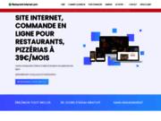 screenshot http://restaurant-internet.com site internet pour restaurant