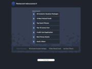 screenshot http://www.restaurant-leboucanier.fr restaurant poissons et fruits de mer