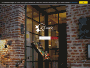 screenshot http://www.restaurant-lecurie.com/ cuisine traditionnelle et menu personnalisé pour événements à hesdin.