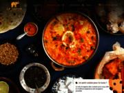 screenshot http://www.restaurant-lesafari.com restaurant le safari, spécialités indiennes paris