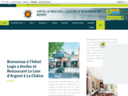 screenshot http://www.restaurant-liondargent.com/ Lion d'Argent Châtre