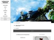 screenshot http://www.restaurant-pommeraie-vire.com/ séminaire à Caen