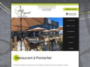 screenshot http://www.restaurant-pontarlier-lepergaud.fr Restaurant à Pontarlier