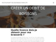 screenshot http://www.restaurant-reunionnais-paris.fr/ cuisine créole paris montparnasse